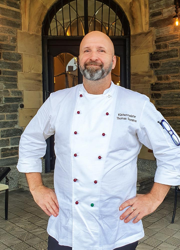 Head chef Thomas Sommer Consulting